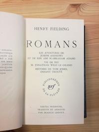 Romans - Henry Fielding
