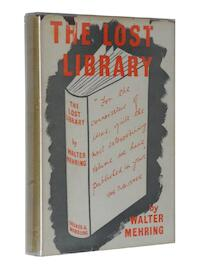 The Lost Library - Walter Mehring