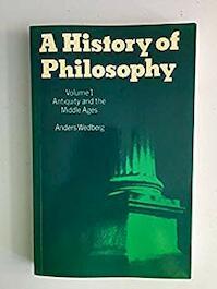 A history of philosophy - Anders Wedberg (ISBN 9780198246916)