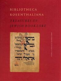 Bibliotheca Rosenthaliana - Adri K. Offenberg (ISBN 9789053560884)
