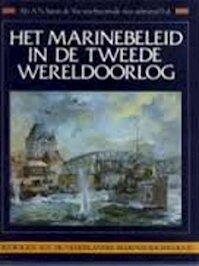 Marinebeleid in de 2e wereldoorlog - Vos Steenwyk (ISBN 9789067071161)