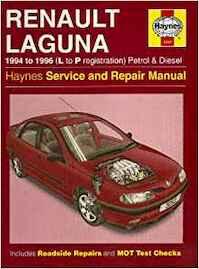Renault Laguna Service and Repair Manual - Mark Coombs, Steve Rendle (ISBN 1859602525)
