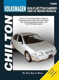 Chilton's Volkswagon Golf/Jetta 1995-05 Repair Manual - Jay Storer (ISBN 9781563927188)