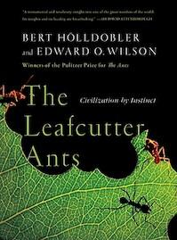 The Leafcutter Ants - Bert Holldobler, Edward O. Wilson (ISBN 9780393338683)