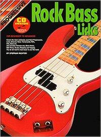 Progressive Rock Bass Licks [CD] - Stephan Richter (ISBN 9319976726434)