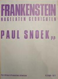 Frankenstein. Nagelaten gedrichten - Paul Snoek