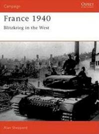 France 1940 - Alan Shepperd (ISBN 9780850459586)