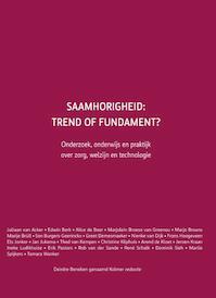 Saamhorigheid: trend of fundament? (ISBN 9789059728851)
