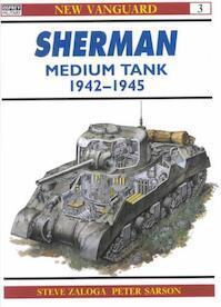 Sherman Medium Tank 1942-1945 - Steven J. Zaloga (ISBN 9781855322967)