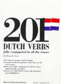 201 Dutch verbs fully conjugated in all the tenses - Henry R. Stern (ISBN 9780812007381)