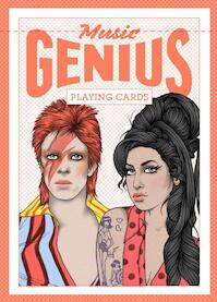 Music Genius Playing Cards (ISBN 9781786270153)