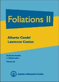 Foliations II - Alberto Candel, Lawrence Conlon (ISBN 9780821808818)