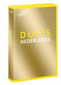 Van Dale Pocketwoordenboek Duits-Nederlands – gouden editie (ISBN 9789460773044)