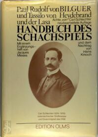 Handbuch des Schachspiels - Bilguer (ISBN 3283001030)