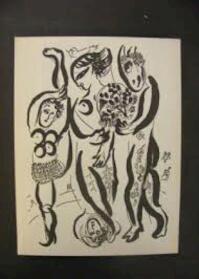 Marc Chagall. Grafiek. Inleiding en keuze Franz Meyer. Biografische gegevens en documentatie Hans Bolliger. - Marc Chagall
