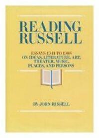 Reading Russell - John Russell (ISBN 9780810915503)