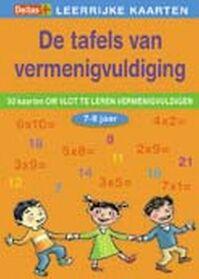 Tafels van vermenigvuldiging 7-8 jaar / Leerrijke Kaarten - Unknown (ISBN 9789044718416)