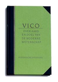 Over aard en doel van de moderne wetenschap - G.B. Vico (ISBN 9789065542014)