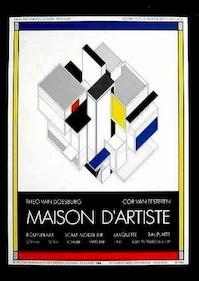Boeuwplaat Maison d artiste - Theo van Doesburg / Cor van Eesteren [bouwplaat] - Veldhuyzen Zanten (ISBN 9789070883065)