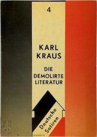 Die demolirte Literatur - Karl Kraus (ISBN 9783870380113)