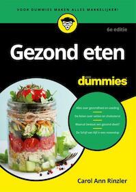 Gezond eten voor Dummies - Carol Ann Rinzler (ISBN 9789045353289)