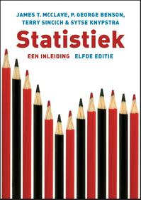 Statistiek - James McClave, James T. McClave, George Benson, Terry Sincich, Sytse Knypstra (ISBN 9789043019651)