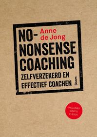 No-nonsense coaching - Anne de Jong (ISBN 9789024404438)