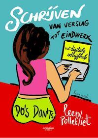 Schrijven: van verslag tot eindwerk - Leen Pollefliet (ISBN 9789038226002)