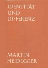Identität und Differenz - Martin Heidegger (ISBN 9783788501143)