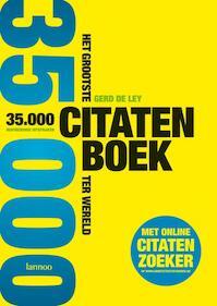 Het grootste citatenboek ter wereld - Gerd De Ley (ISBN 9789020983135)