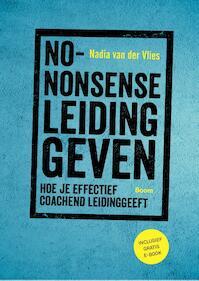 No-nonsense leidinggeven - Nadia van der Vlies (ISBN 9789024415458)