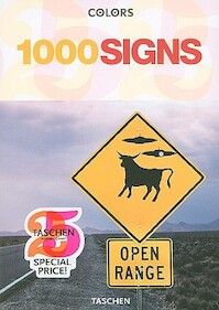 1000 Signs - Colors Magazine (ISBN 9783836510011)