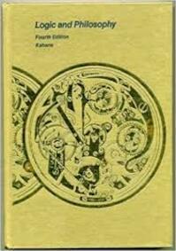 Logic and Philosophy - Howard Kahane (ISBN 9780534010881)