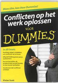 Conflicten op het werk oplossen voor Dummies - Vivian Scott (ISBN 9789043021166)