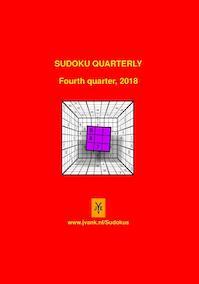 Sudoku quarterly 2018 (Vierde kwartaal) - Herman Adèr (ISBN 9789079418718)