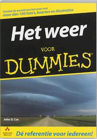 Het weer voor Dummies - J.D. Cox (ISBN 9789043010962)