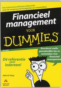 Financieel management voor Dummies - Tracy (ISBN 9789043008730)