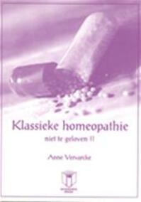 Klassieke homeopathie - Anne Vervarcke (ISBN 9789038202280)