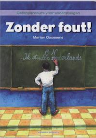 Zonder fout! - M. Goossens (ISBN 9789034192769)