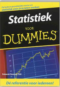 Statistiek voor Dummies - Deborah Rumsey (ISBN 9789043008891)