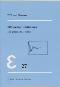 Differentiaalvergelijkingen - W.T. van Horssen (ISBN 9789050410328)