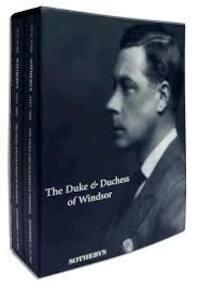 The Duke & Duchess of Windsor - 3 Volumes in Slipcase - Sale 7000 - Sotheby'S