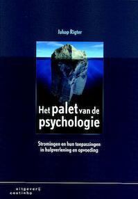 Het palet van de psychologie - Jakop Rigter (ISBN 9789046900109)