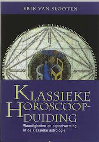 Klassieke horoscoopduiding - E. van Slooten (ISBN 9789062710126)