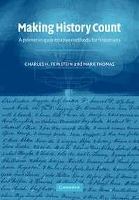 Making History Count - Mark C. H. ; Thomas Feinstein (ISBN 9780521001373)