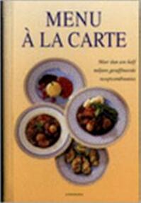 Menü à la carte - Lotje Deelman, Elke Doelman (ISBN 9783829016407)