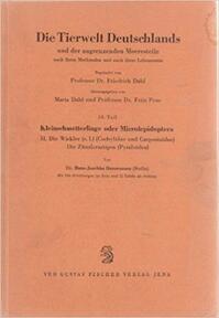 kleinschmetterlinge oder microlepidoptera (Die Tierwelt Deutschlands 50. Teil) - Hans-Joachim Hannemann