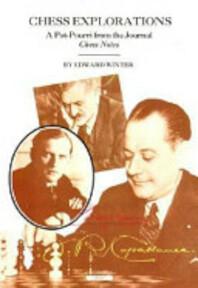 Chess Explorations - Edward Winter (ISBN 9781857441710)