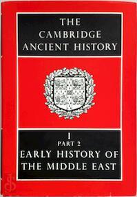 The Cambridge Ancient History - (ISBN 9780521077910)