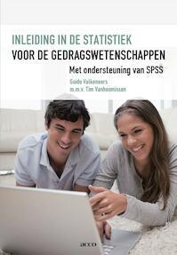 Inleiding statistiek voor de gedragswetenschappen met SPSS - Guido Valkeneers, Tim Vanhoomissen (ISBN 9789033489433)